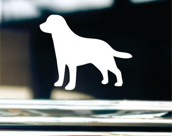 Lab Sticker For Car Window, Bumper, Or Laptop