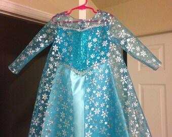 Elsa dress size 7