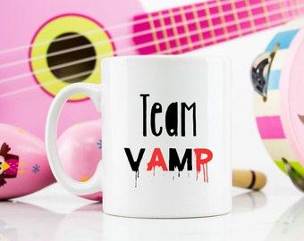 Team Vamp 11oz mug Vampire dracula Twilight True Blood