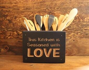 Kitchen Utensil Box