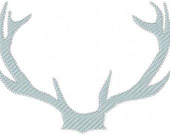 Machine Embroidery Design - Antlers 01