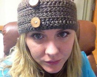 Stylish Hand Crochet Ear Warmer/Headband
