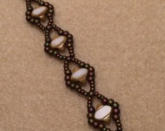 Natural Silky Beaded Bracelet
