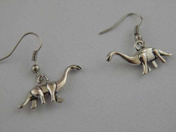 Diplodocus Dinosaur Jurassic World Earrings
