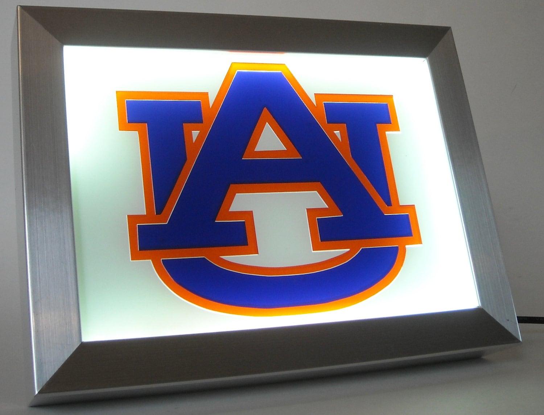 102 University Of Auburn Football Night Light Lamp Man Cave