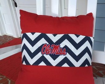 Ole Miss Pillow wrap