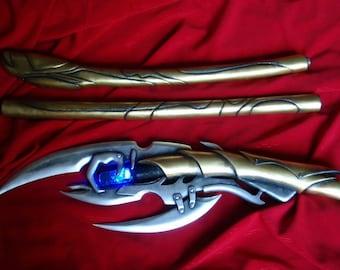 Custom cosplay blade scepter