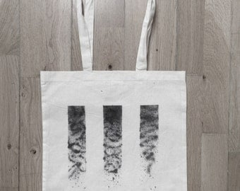 Doodle stripes Tote Bag