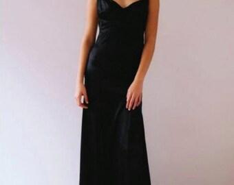Black formal gown- SAMPLE