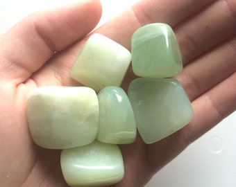 New jade palm tumbled stone serpentine