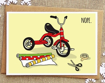 Funny Holiday Card - Funny Christmas Card - Sarcastic - Holiday Greeting Cards - Funny Friend Card - Xmas Cards
