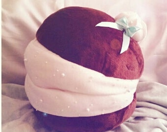 Ultra soft HUGE macaroon pillow/plushie
