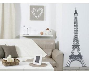 Hot Summer Sale - 20% OFF Eiffel Tower wall decal, sticker, mural, vinyl wall art