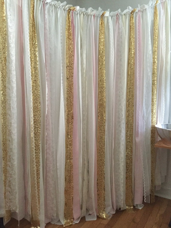 Pink Gold Sequin Backdrop Or Silver By Loveindustrialliving