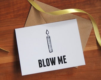 Funny Birthday Card, Happy Birthday Card, Humorous birthday gift