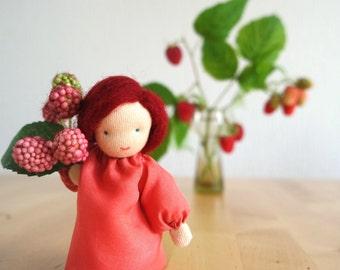 Raspberry - Flower Child for Fall, Waldorf inspired