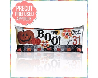 Halloween Boo! - Laser Cut Pre Fused Applique Quilt Kit