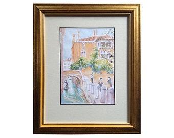 1950s Venice Watercolor