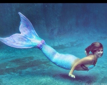 Silicone Monofin Mermaid Tail