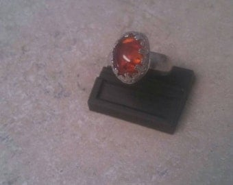Amber ss ring size 10