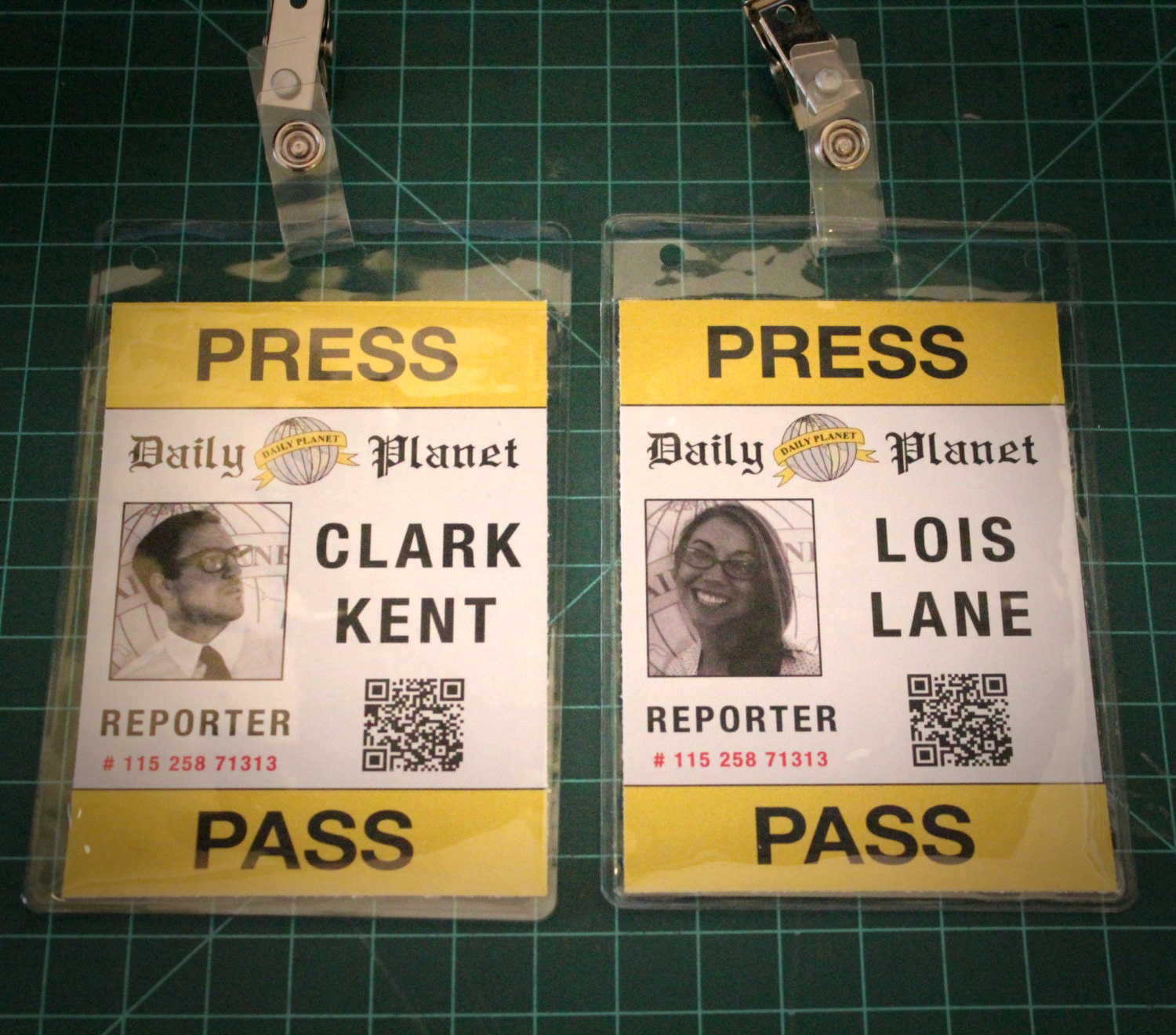 It is an image of Monster Lois Lane Press Pass Printable