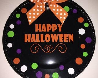 Happy Halloween Display Plate