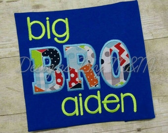 Big Brother Shirt Personalized