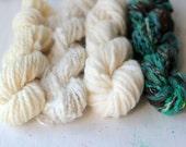 Weaver's Yarn Pack 048 - Serene Fiber Arts Mini Skein Pack for Weaving - 100g