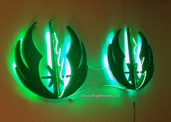 Led triple jedi lightsaber wall mount star wars light saber led triple jedi lightsaber wall mount star wars light saber mount led jedi symbols kids room led wall art fanboy fangirl led cosplay mozeypictures Images