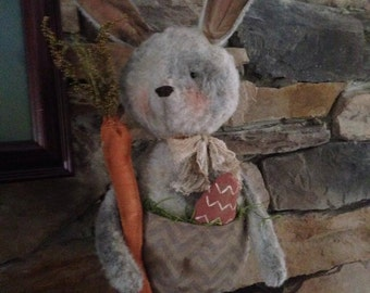 MADE TO ORDER: Primitive Easter Bunny Rabbit