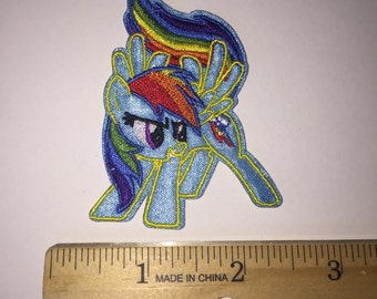 Ready to ship Rainbow Dash patch