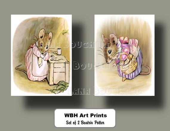 Beatrix potter baby prints nursery room by weddingsbabieshome for Beatrix potter bedroom ideas