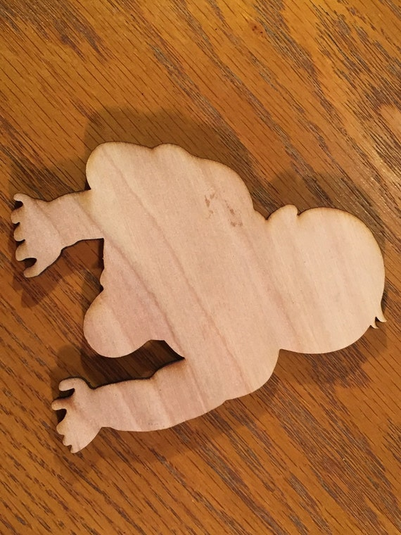 Baby shower ideas wooden baby cutouts for favors or for Baby shower decoration cutouts