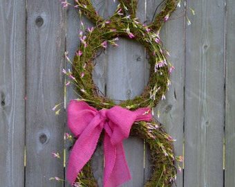 Easter Rabbit Wreath