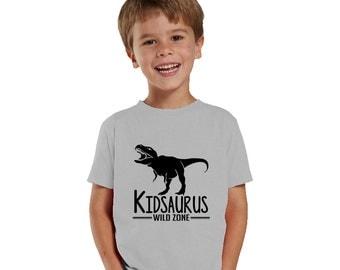 Kidsaurus Heather boy Shirt