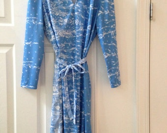 Jeanne Durrell Polyester Dress by the Lorch Company