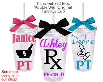 1 Pharmacy Personalized Original Tumbler,Pharmacists GIft,Pharmacy Technician Gift,Pharm Tech Gift,Personalized Pharmacy Gift,Medical Gifts