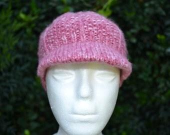 Newsboy hat, Knit newsboy hat, Womans knit hat, Teens hat, girls hat, newsboy cap, knit girls hat.