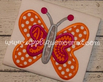 Butterfly 16 Applique Design