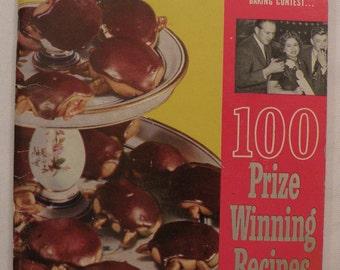 Pillsbury New 1953 Cook Book 4th Grand National 100 Prize Winning Recipes