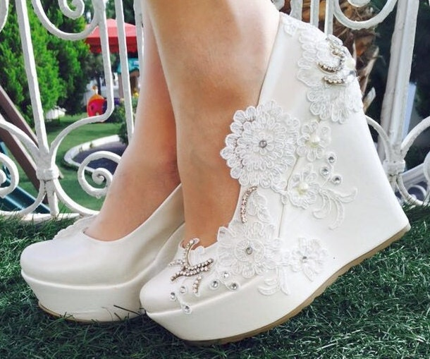 Wedding Wedding Shoes Bridal Wedge ShoesBridal Shoes
