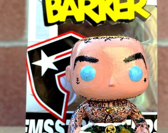 Travis Barker Pop Figure. REQUEST A Funko Pop CUSTOM Vinyl Figure!