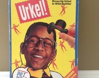 Vintage Steve Urkel - Family Matters Playset - Dress Up Urkel