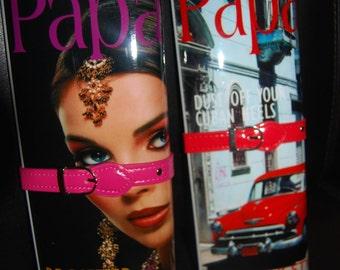 New Magazine Designer Clutch Fashion Purse  New Paris Milan