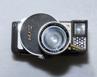 Holiday Zoom Vintage 8mm Movie Camera With Retro Aesthetic