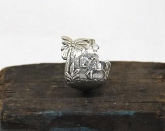 donkey ring, mule ring, spoon ring, burro ring