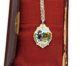bavarian necklace, german necklace, european necklace, octoberfest necklace
