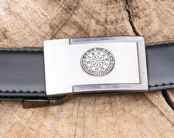 Darts Board Pewter Design Belt and Buckle Set Ideal Darting Gift Present