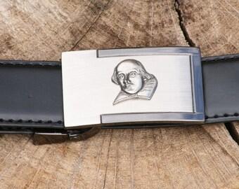 Shakespeare Pewter Design Belt and Buckle Set Ideal Elizabethan Gift Present