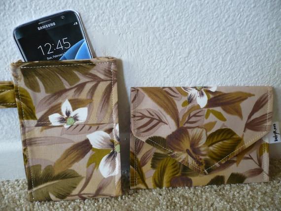 Cell phone pocket & Mini wallet ~ Set